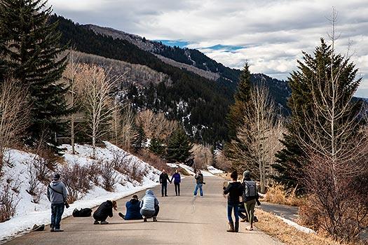 wedding photography workshop in Vail Colorado