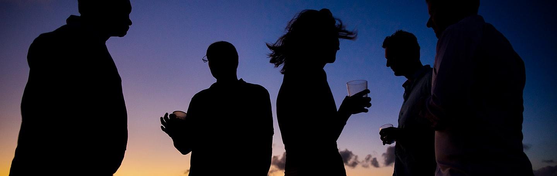 St. Lucia destination wedding sunset cruise