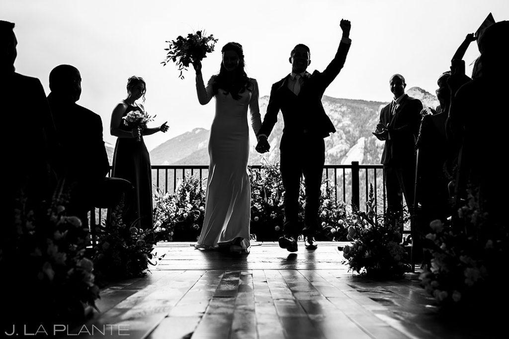 Rocky Mountain National Park wedding ceremony