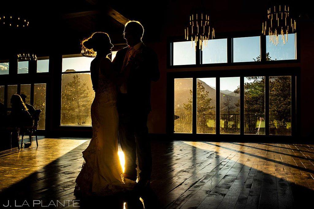 spring wedding at Black Canyon Inn father daughter dance