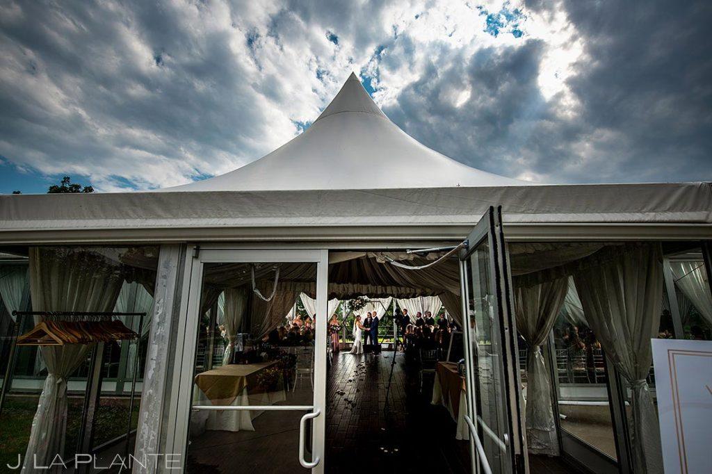 Wellshire Event Center wedding ceremony