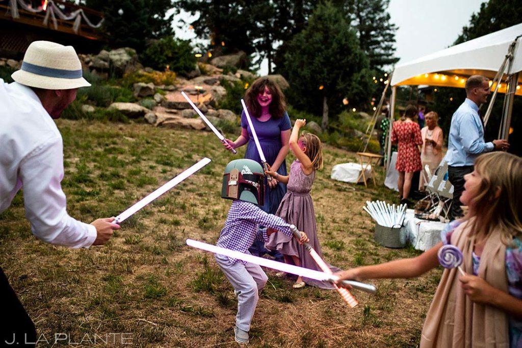 star wars themed wedding in Colorado
