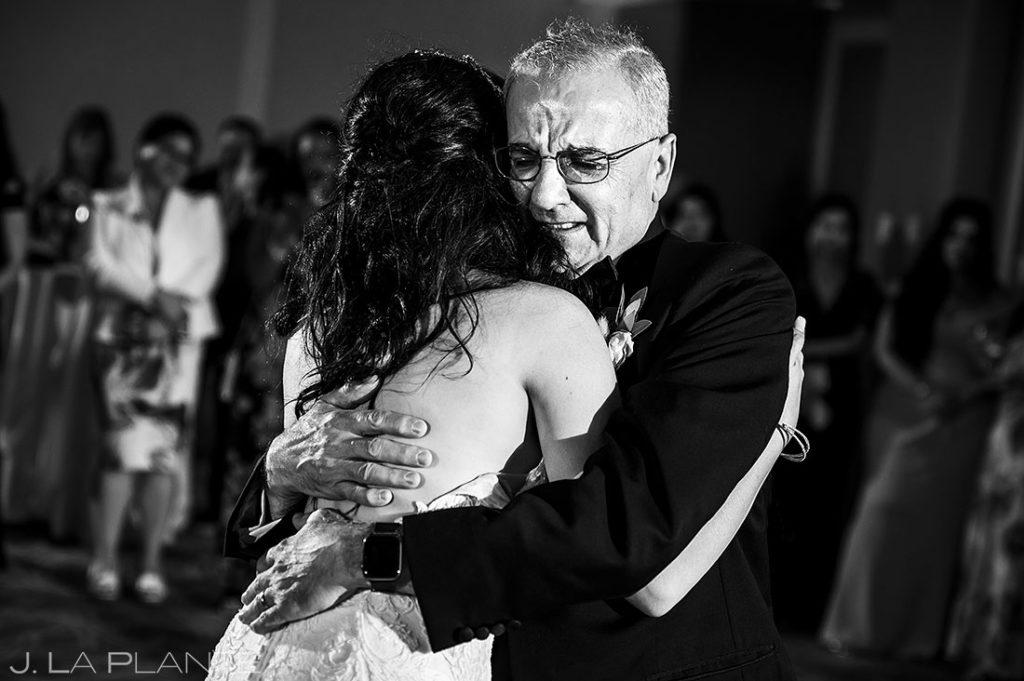 first dance at Garden of the Gods Resort wedding