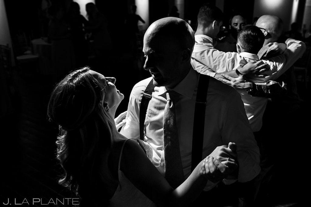 last dance between bride and groom at Wellshire Event Center wedding