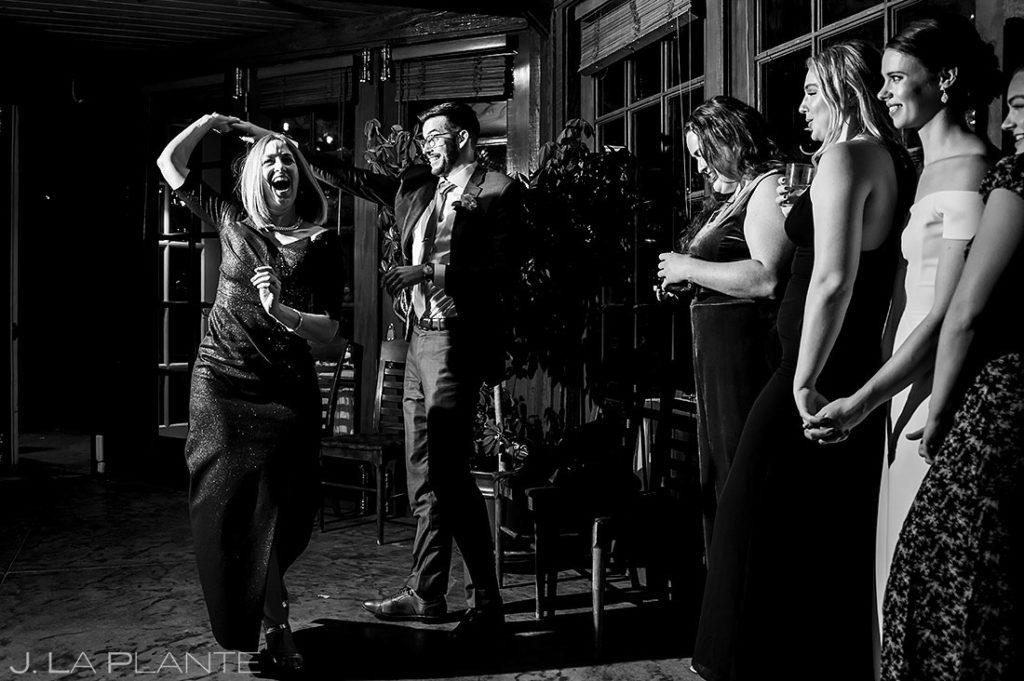 mother son dance at Greenbriar Inn microwedding