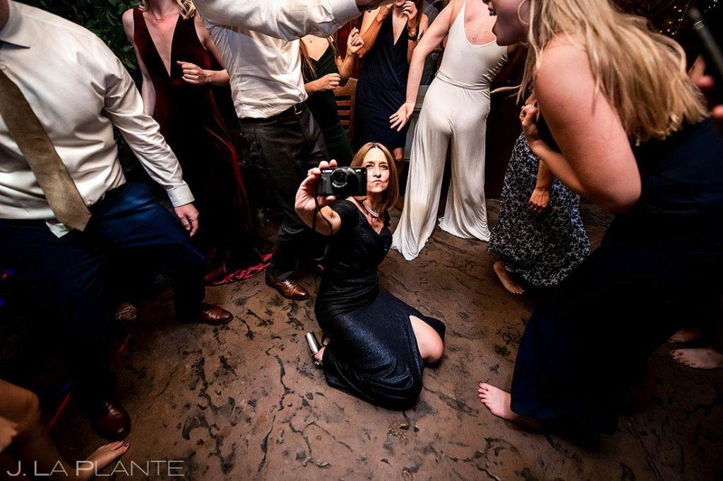 wedding reception dance party in Boulder Colorado