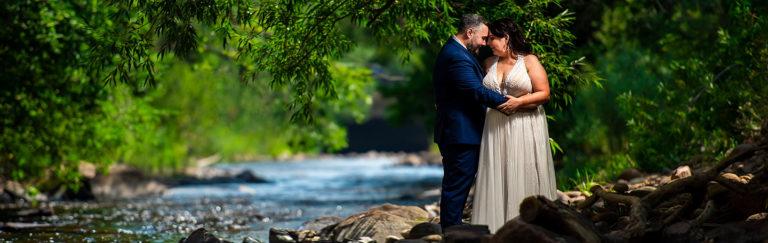 Summer Wedding at Planet Bluegrass